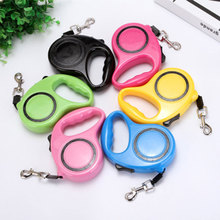 Dog Leash Harness Tags Pet Telescopic Traction Rope Supplies Accessories Automatic Tractor Portable Leashes