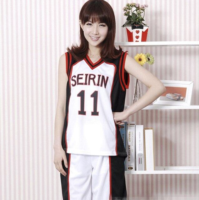Kuroko no Basket Akashi seijuro Jersey Cosplay kuroko Tetsuya traje kuroko  no basuke teiko 11th uniformes 76bd0e7e91910