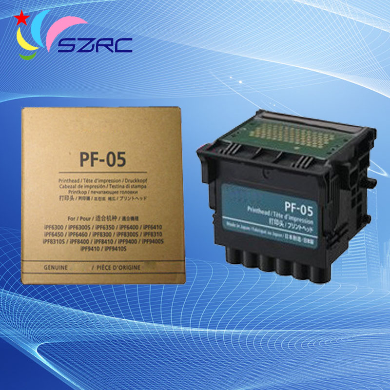 New Original Print head PF-05 Printhead For Canon iPF6300 6350 6400 6410 6450 6460 8300 8300S 8310 8400 8410 9400 9400S 9410 new original print head qy6 0061 00 printhead for canon ip4300 ip5200 ip5200r mp600 mp600r mp800 mp800r mp830 plotter