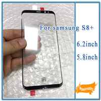 Original New LCD Screen Front Outer Glass Lens For Samsung Galaxy Note8 Note9 S10 S10Plus Screen Repair Part