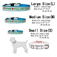 Personalised Custom Embroidered Tough Nylon Dog Collar