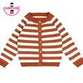 2016 Girls Cardigan Kids Knit Sweater Autumn Winter Boys Girls Stripe Long Sleeve Children Coat Outerwear Kid Cardigan Sweater