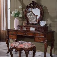 Европейский зеркало столик спальни комод французский мебель французский туалетный столик p10290