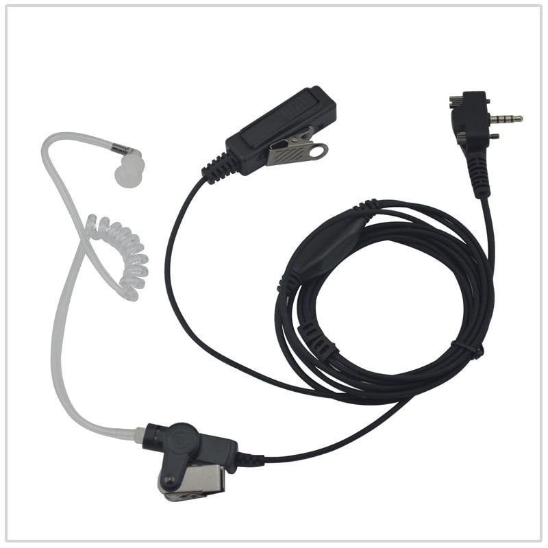 Two-Wire Surveillance Kit For Vertex Standard VX-231 VX-260 VX-264 VX-450 VX-454 VX-530 VX-531 EVX-530 EVX-531 EVX-261
