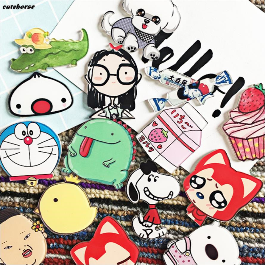 doraemon robot cat stereoscopic wall painting magnets