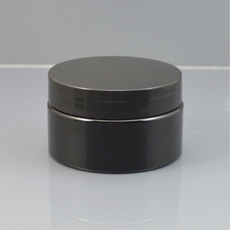 30g 50g 100g Negru Cosmetic Recipient de plastic Cremă de plastic, Crema de plastic Reutilizare Reutilizare Cremă cu Capacele Logo personalizate imprimabile