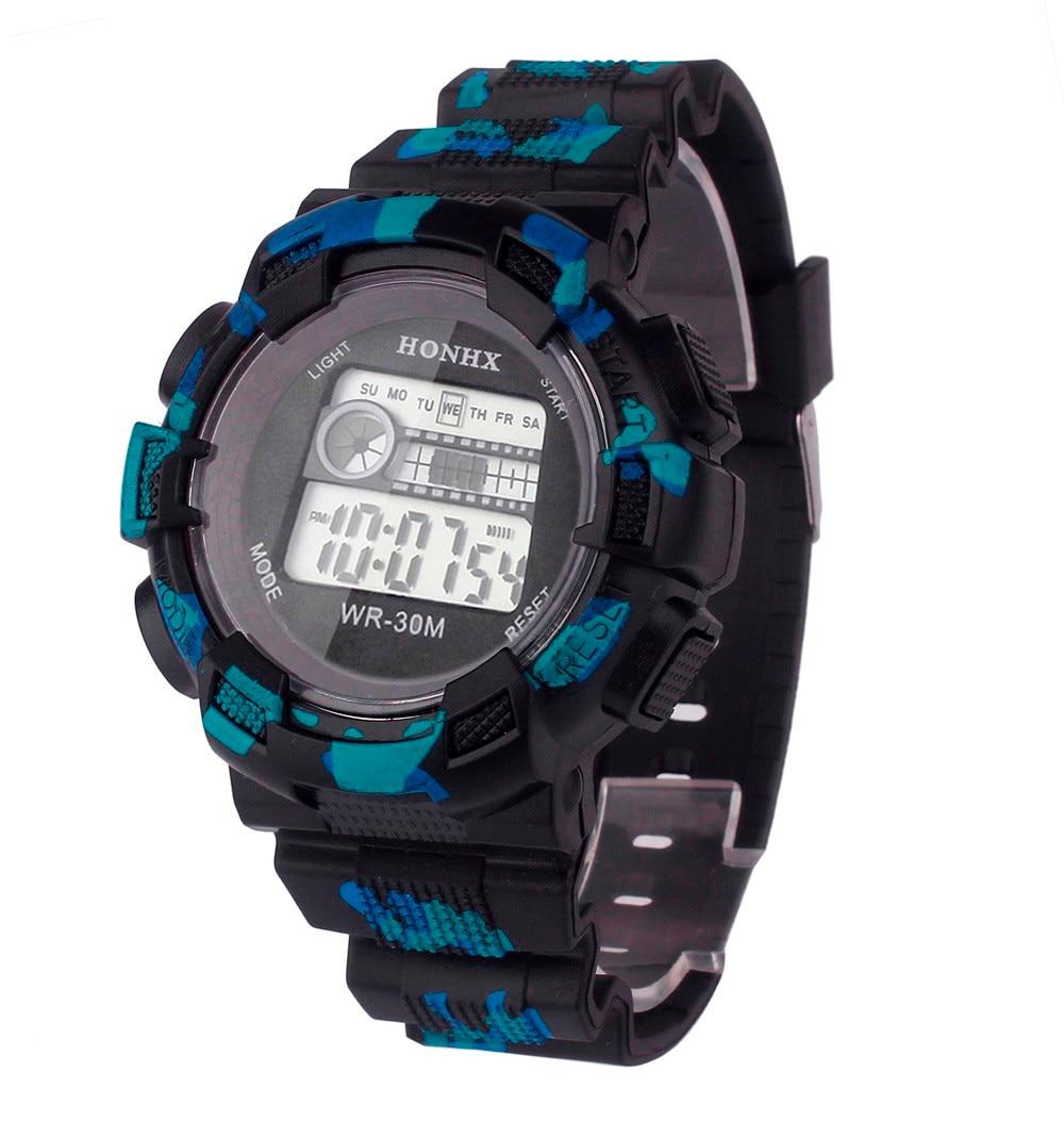 Fashion Relogio masculino Clock Famous Brand Wrist Watches LED Digital Date Military Sport Quartz Watch Alarm Saat Erkekler  недорого