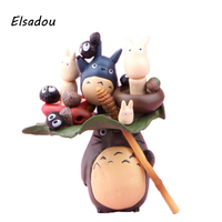 Elsadou Anime Giapponese Totoro Action Figure Toy Doll