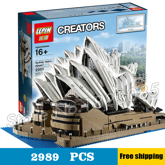 2989pcs 17003 Creator Expert Sydney Opera House Building Blocks