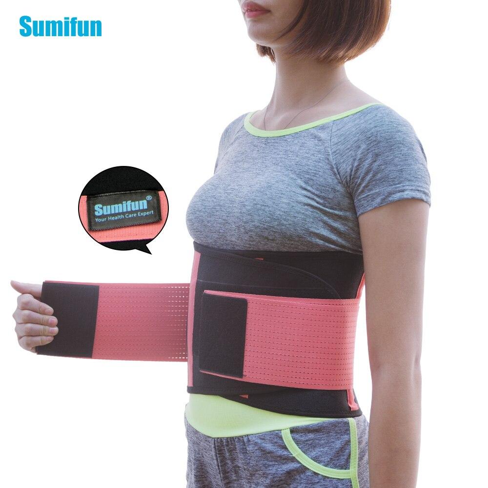 Waist Brace Support Belt Lower Back Brace Support Belt - Lumbar Support Belt for Men and Women Z709