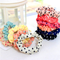 10Pcs/Lot Candy Bright Colored Hair Holders High Quality Rubber Bands Elastics Hair Band Scrunchy Hair Accessories Headbands