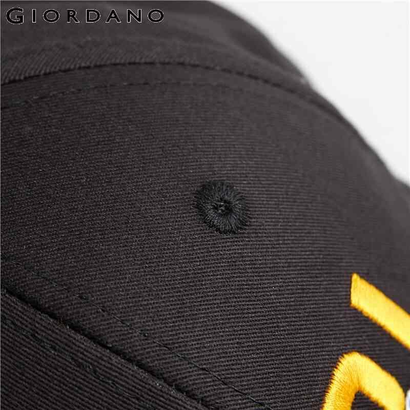 Giordano повседневные бейсболки из натурального хлопка с номерными вышивками, имеется множество различных вариантов данной модели.