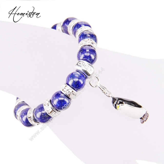 Фото браслет с бусинами thomas style lapis lazuli браслет стразы цена