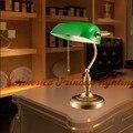 Todos cobre metal decoração retro lâmpada pequena mesa lâmpada de cabeceira quarto estudo, De cobre, E27, Av90-260v