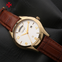 JULIUS Auto Day Date Designer Watches Expensive Business Western Stylish Limited Luxury Brand Watches For Men With Logo JAL-034