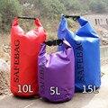 Waterproof Dry Bag for Canoe Kayak Rafting beach batoh sea wade Drifting sacoche homme one shoulder bag 5L 10L 20L