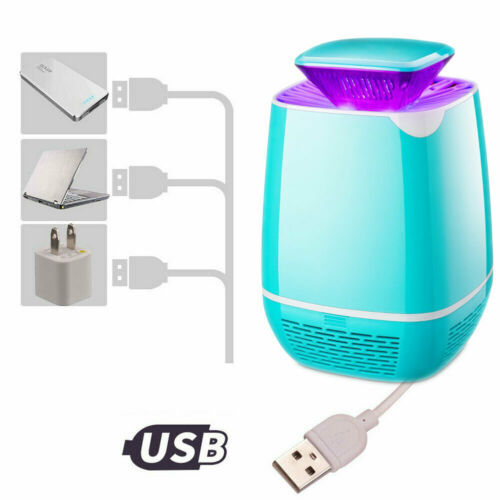 Indoor Home Electric Mosquito Fly Bug Insect Killer LED Light Trap Lamp USB Gadgets 1
