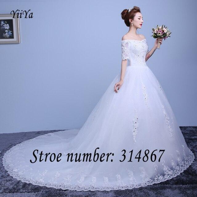 Free shipping New 2016 Vestidos De Novia Trailing red White Wedding ...
