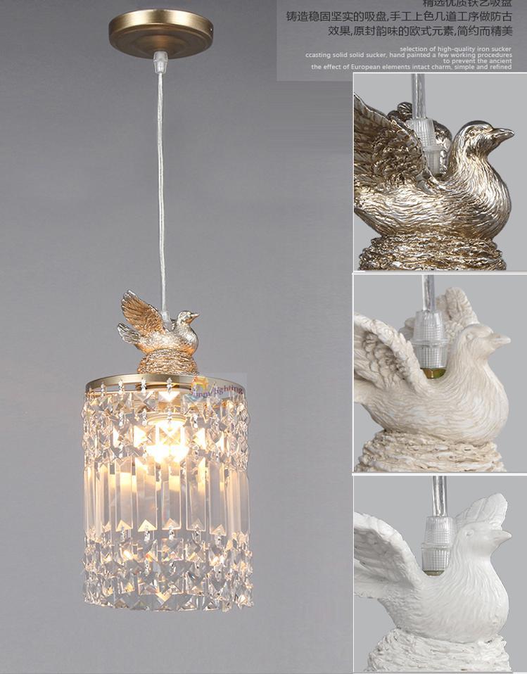 Moderne 1 Stcke Veranda Kristall Pendelleuchte Fashion Modernes Wohnzimmer Lampen Schlafzimmer Home Licht