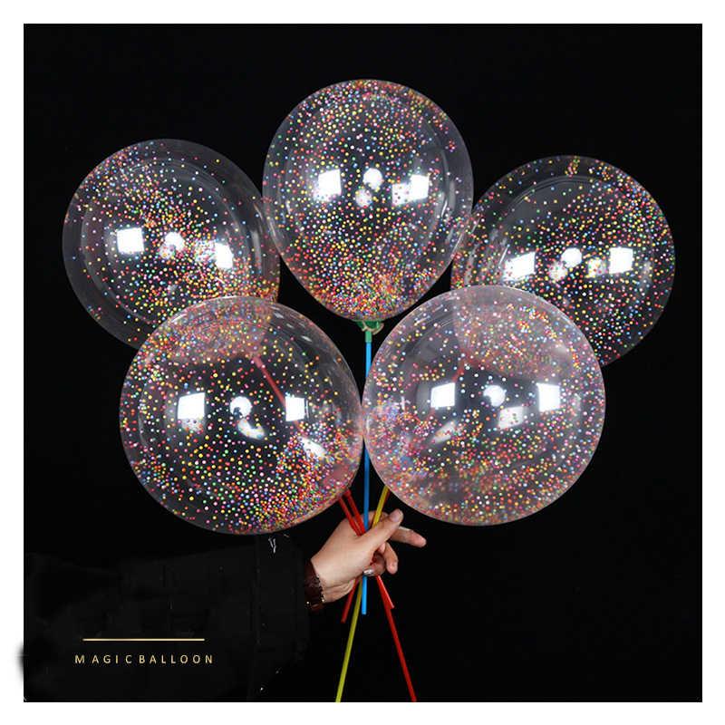 OUDIROSE Çok Renkli Köpük Sihirli Noktası Lateks Balon Çocuk Doğum Günü Partisi Dekorasyon Düğün şişme top Parti Malzemeleri