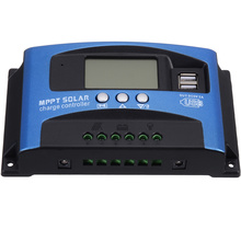 30A MPPT Solar Panel Regulator Charge Controller Auto Focus Tracking Overload Protection With Dual USB LCD Display 12V/24V mppt 30a 30amp controller factory direct supply low price tracer3210cn with wifi function and usb temperature sensor