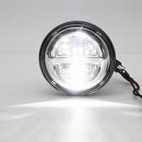 """5 3/4 """"runde Motorrad Scheinwerfer 5,75 zoll LED Scheinwerfer DRL Für motor Sportster Eisen 883 1200 Dyna 5,75 ZOLL"""
