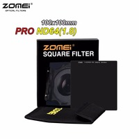 Zomei Professional 100mm ND64 Square Filter 100x100mm Neutral Density 6 Stop Optical Glass Full Gray Multi Coated HD ND Filter