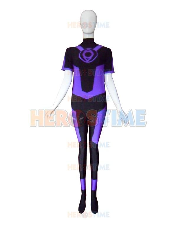 Lantern Corps Indigo Lantern Superhero Costume halloween cosplay spandex Lantern Costume hot sale zentai suit