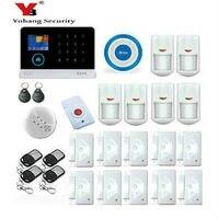 Yobang безопасности Беспроводной Wi Fi GSM сигнализация Системы движения PIR Сенсор дыма Беспроводной охранной сигнализации Системы