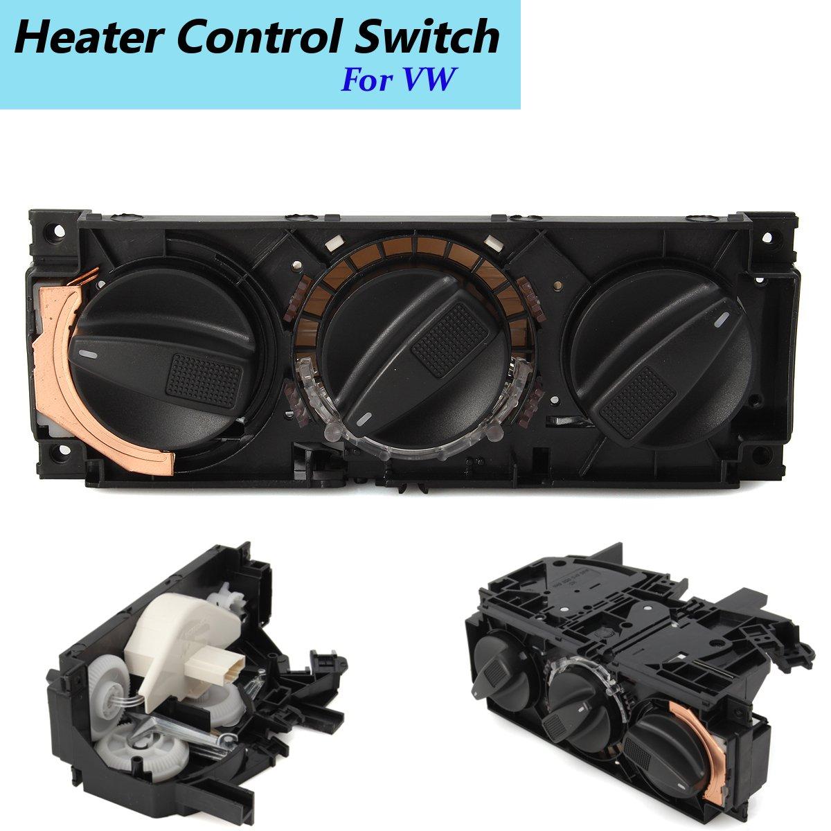 1H0820045D Car A/C Interruptor de Controle do Aquecedor Painel Climate Control Knob Para Volkswagen VW Jetta Golf mk3 Vento Eurovan
