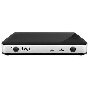 TVIP 605 Smart TV Box 2.4GHZ Wifi Super Clear Linux 4.4 Support H.265 1080P HD Quad Core TVIP605 Set Top Box vs TVIP 410 415