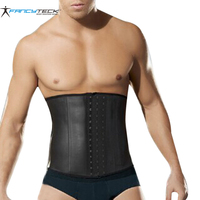 Modeling Strap Latex Waist Trainer Vest Waist Cincher Firm Tummy Slimming Male Waist Cincher Corset Waist