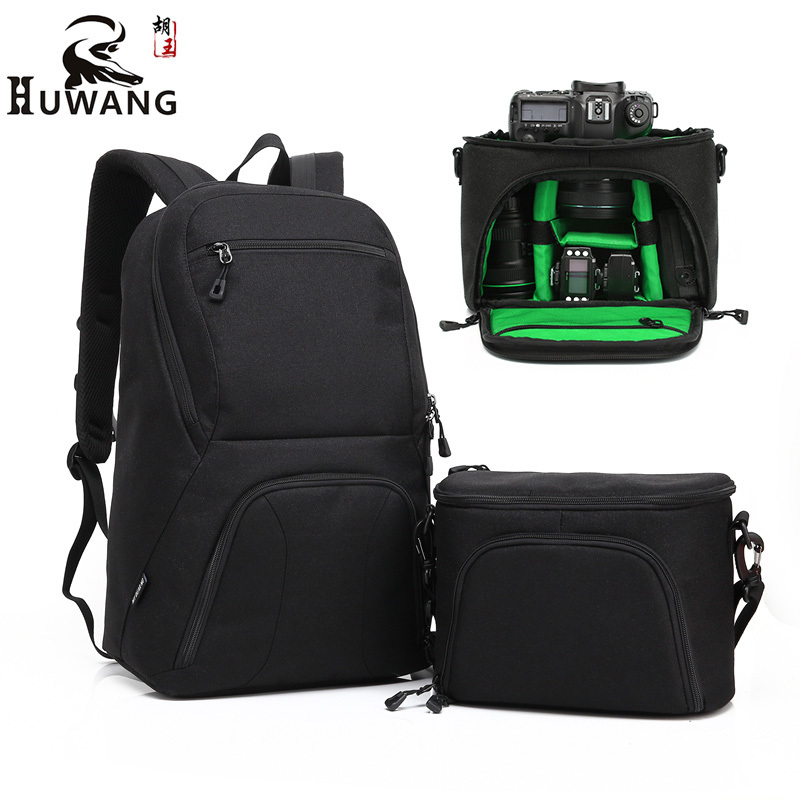 Waterproof multi-functional Digital DSLR Camera Video Bag w/ Rain Cover SLR Camera Bag Case Photo Bag w/ Shoulder Strap Hot Sale dslr camera laptop backpack waterproof photo digital dslr camera bag rucksack camera video bag slr camera rain cover li 1632
