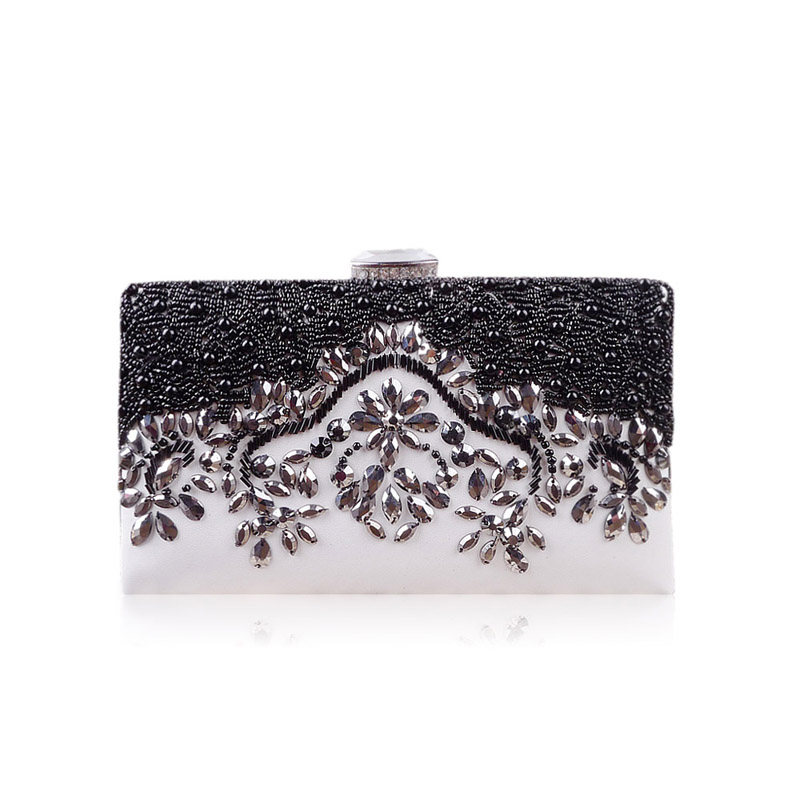 2017 New Design Casual Clutches Women\'s Fashion Evening Bags Black ...
