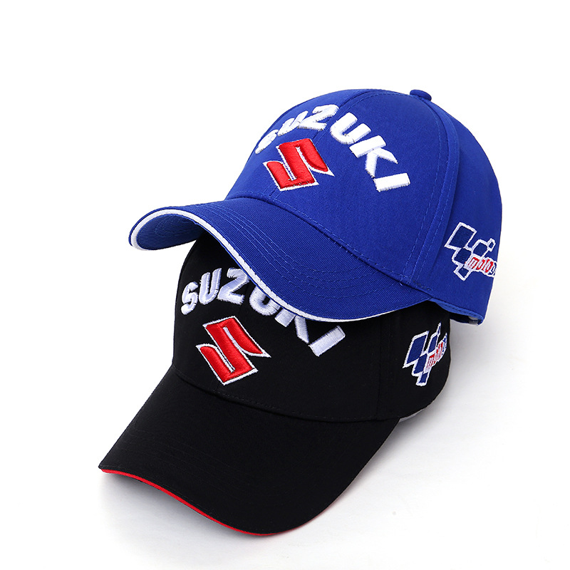 Fashiin MOTOGP Motorcycle   Baseball     Cap   3 D Embroidery SUZUKI Snapback   Caps   F1 Racing   Cap   Outdoors Sports Men Women Hats