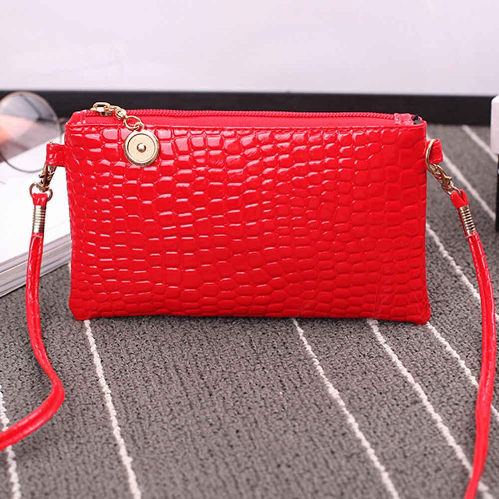 Mode Frauen Tasche Leder Messenger Schulter Tasche Tote Geldbörse Handtasche Messenger Umhängetasche Hohe Qualität