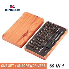KINDLOV Screwdriver Set 69 In 1 Precision Destornillador Multi function Magnetic Screw Driver Bits Disassembly Repair Hand Tools