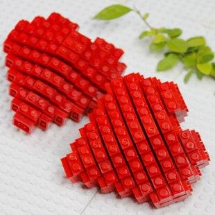 Blokker sett, Heart Gift for elskere, Valentine, Foreldre eller - Bygg og teknikk leker - Bilde 2