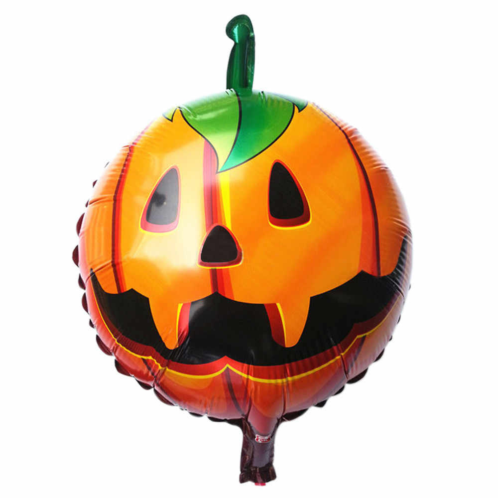 New Arricval Large Size Pumpkin Face Head Halloween Decorative Foil Balloons Wedding Birthday Party Decoration Wholesale #20