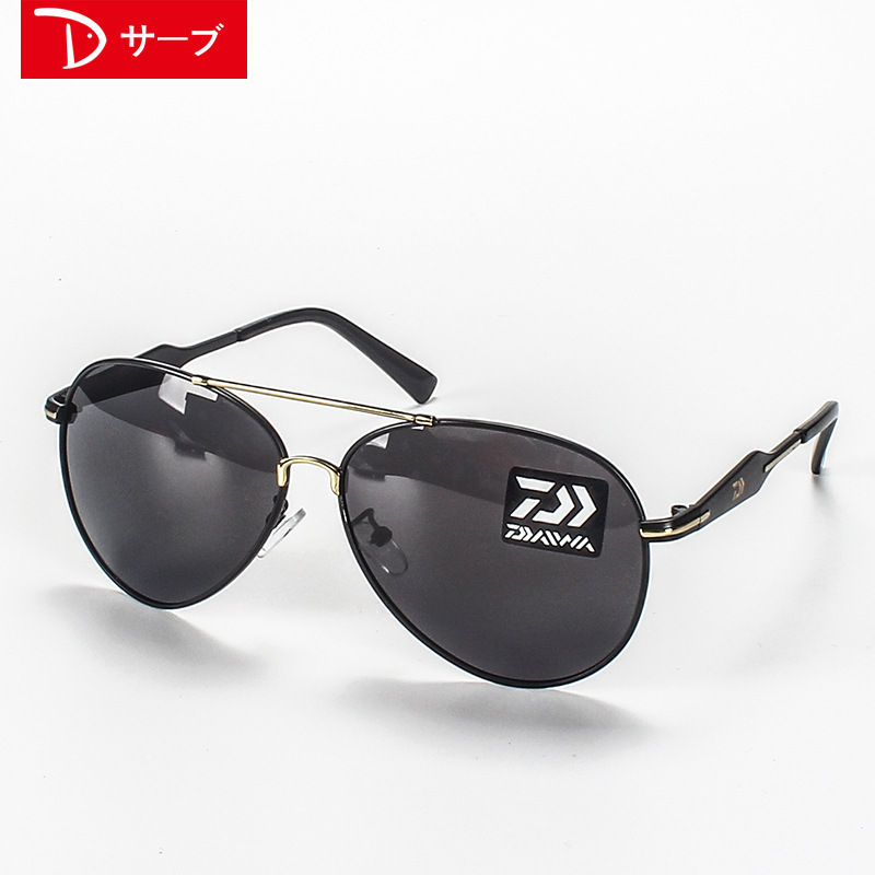 Image 2 - Outdoor fishing polarized glasses 2018 New DAIWA to see increased clarity drift dedicated high definition night vision sunglasse-in Fishing Eyewear from Sports & Entertainment