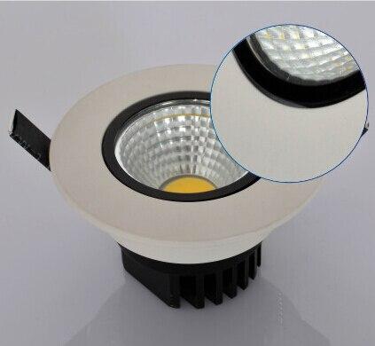 Бесплатная доставка затемнения 10 Вт вел потолочный светильник 110 В/220 В теплый белый холодный белый Встраиваемый светодиодный лампа Подпушк...