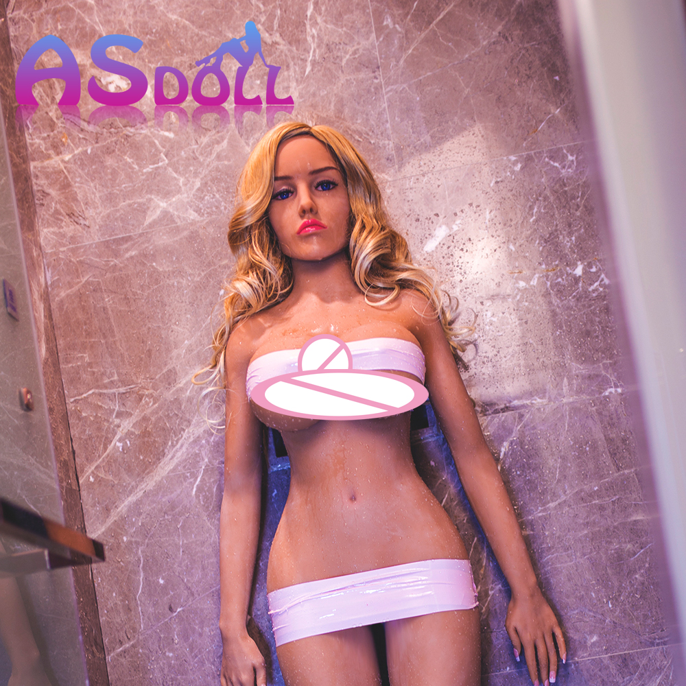 silicone doll for sex top quality realistic sex doll Sexual Doll with Oral Anal vagina big breast adult sex love doll for Japan 2017 new 100% full silicone with metal skeleton half body 86cm sex doll love doll oral vagina anal breast sex doll for men