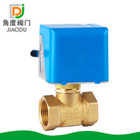 Factory Direct Brass Two Central Air Conditioning Fan Coil DN20 DN25 Two Wire Electric Cut Off