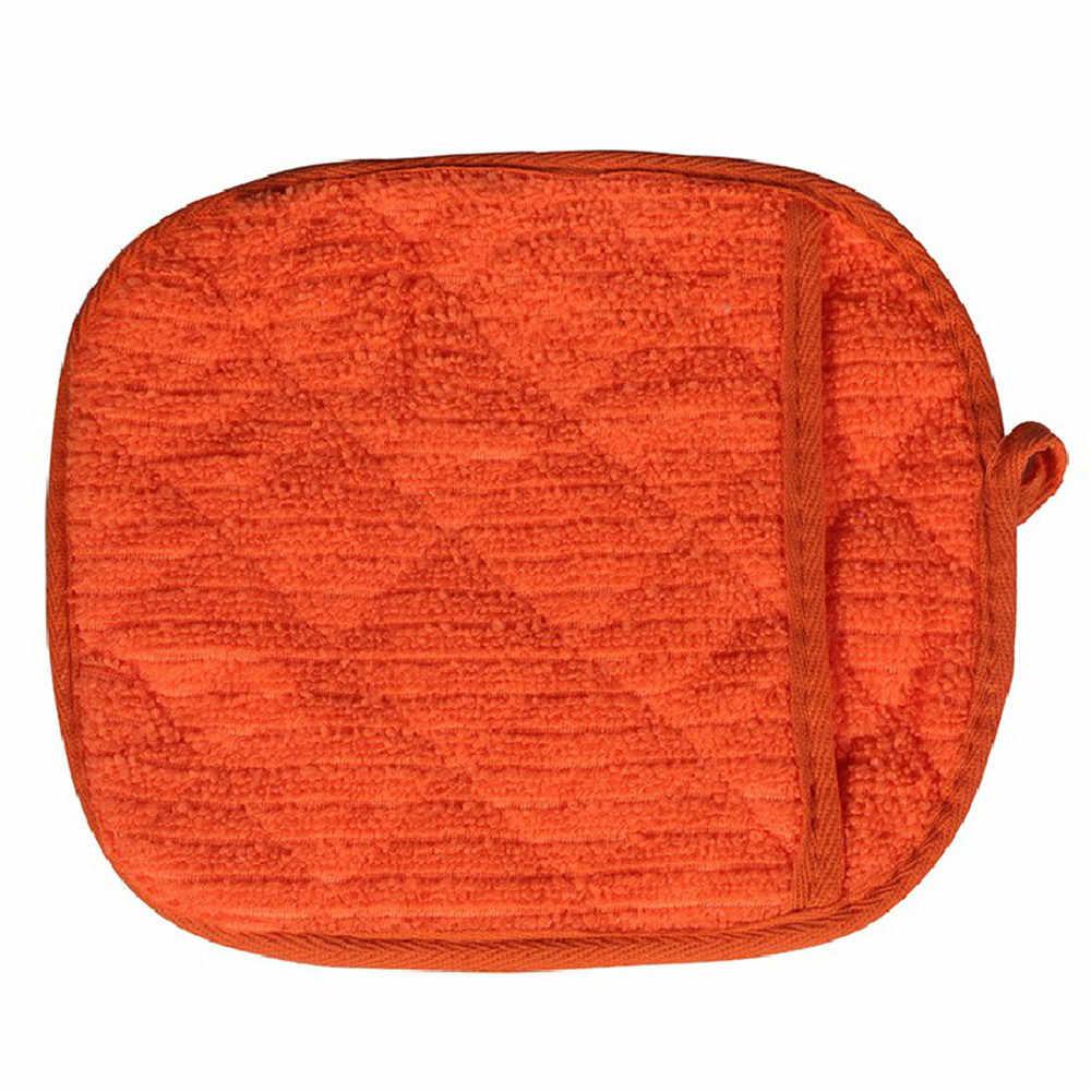 Backofen Mitts 1Pcs Nette Küche liefert Baumwolle dick mikrowelle handschuhe High-temperatur heiße isolierung handschuhe