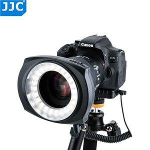Image 1 - JJC DSLR Camera Flash Video Speedlite Inside/Outside Half/Whole LED Macro Ring Light for NIKON/CANON/SONY/Olymous/Panasonic