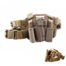 CQC 1911 Thigh Holster Military Tactical Airsoft  Hunting Drop Leg For Gun Colt Holsters Left