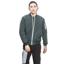 2016 Men Winter Zipper Short Cotton Jackets Coats Outwear Jaqueta Masculina Men s Casual Fashion Slim