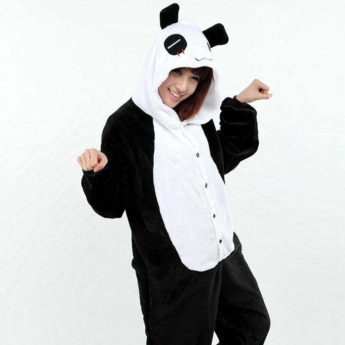 come ottenere caldo-vendita prestazioni superiori US $29.64 |New Adulto Animale Panda Tutina Cosplay Tutina Da Notte Pigiama  Per Le Donne Unisex Pigiama Cartone Animato Anime Panda Homewear Pigiama-in  ...