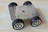 높은 전원 견고한 강한 알루미늄 합금 로봇 추적 자동차 구동 4WD 스마트 금속 탱크