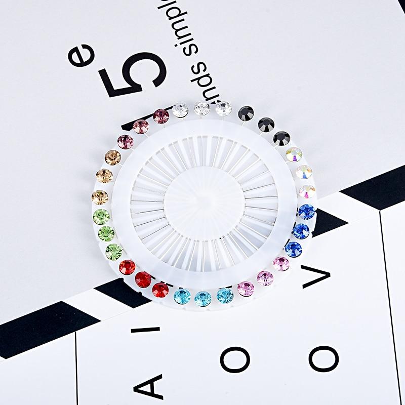 2018 Νέο Hijab Pins Σετ Χονδρικής 30PCS - Κοσμήματα μόδας - Φωτογραφία 1